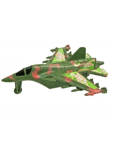 Самолет инерц. 398-11A в пакете 19*15см