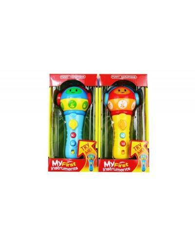 Микрофон ZD658-58 батар., 2 вида миксв кор. 22*11*9см