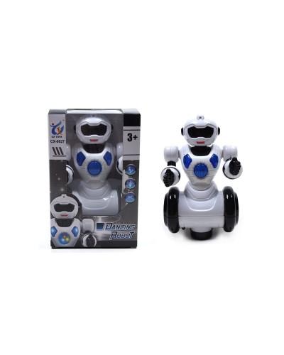 Робот батар. CX0627 свет, звук, в коробке 21*14*13см