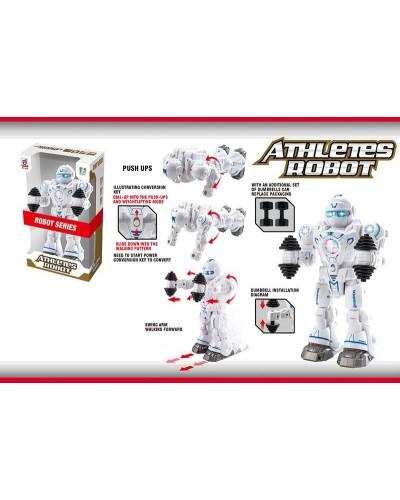 Робот 6026 батар.,свет,звук,в коробке