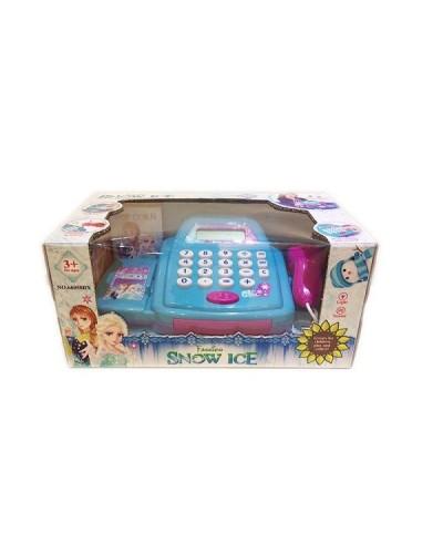 """Кассовый аппарат """"Frozen"""" 66050BX свет-звук,сканер,калькулятор, в кор."""