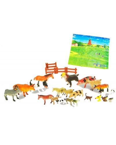 Животные H638 домашние, в пакете 25см