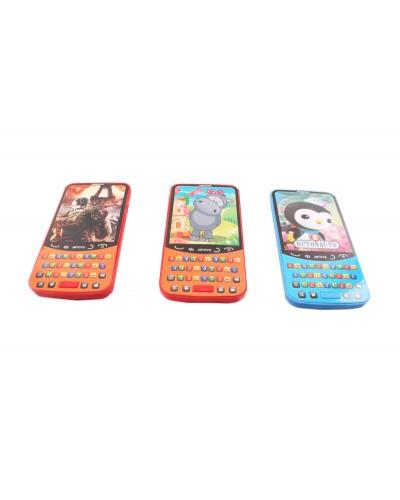 Моб.телефон 622-B 3 вида, батар., на планшетке 14*7*2см