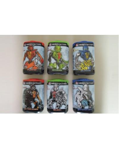 """Конструктор """"Bionicle"""" 998-09 6 видов,в колбе"""