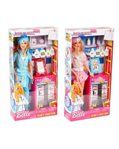 "Кукла типа ""Барби""Доктор"" JX100-46 2 вида, с аксесс, в кор.17*6*33см"