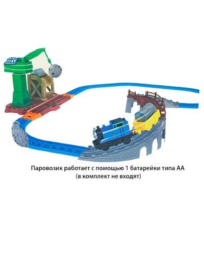 Железная дорога 660-44 батар., в кор. 52*33*9см