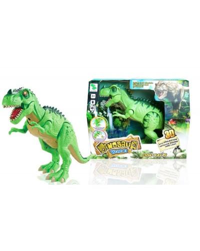 Животные 1010A батар, динозавр, звук,свет, ходит, в коробке 38*30*13 см