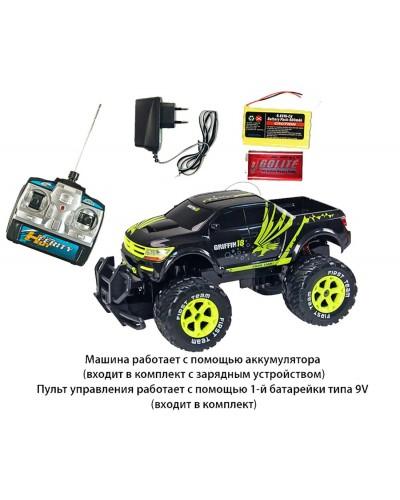 Машина аккум на р/у W3818 батар, 2 цвета, в коробке 52*25*26,5см