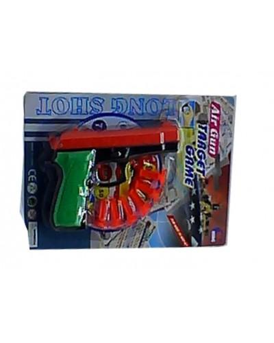 Пистолет 339A с присосками, на планшентке