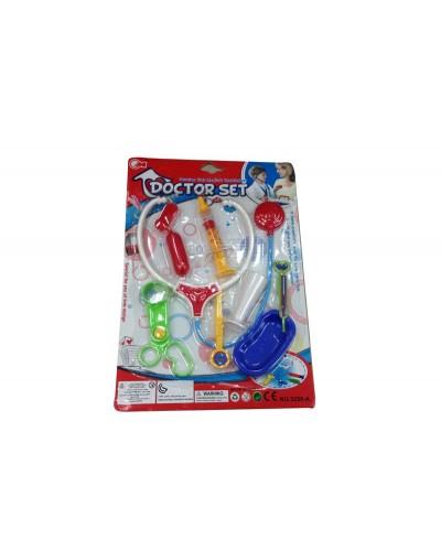 Доктор 3259-A стетоскоп, шприц, термом, скальпель…на планш.
