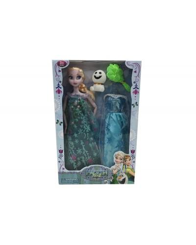"Кукла ""Frozen "" YF1138GY-1 платье шарнир.аксесс., в кор."