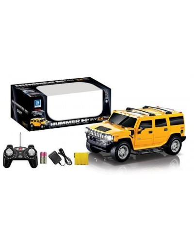 Машина джип аккум р/у 866-893HBH2 HUMMER H2, пульт на батар., в кор.45,5*19*18см