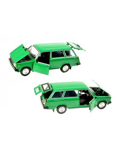 """Машина металл 2104 """"АВТОПРОМ"""", батар., свет, звук, откр.двери, капот, багаж., в кор. 24,5*12,5*10"""