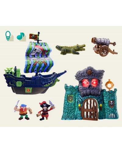 Пиратский набор 16502 в коробке 64*15*40см