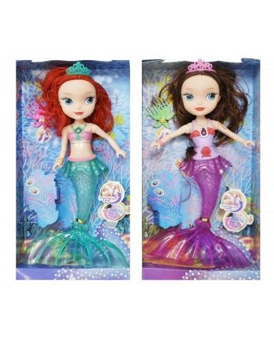 """Кукла """"Sofia-русалка"""" 833 2 вида, в кор. 32,5*17,5*6 см"""