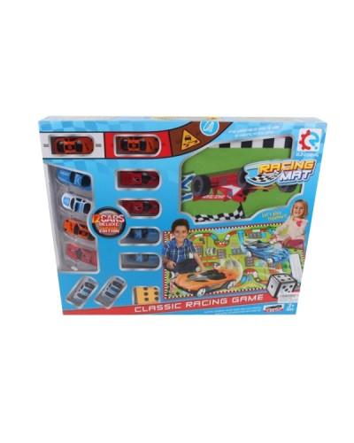 Игровой коврик 8289A коврик, 12 машинок в кор.45,5*6*36,5см