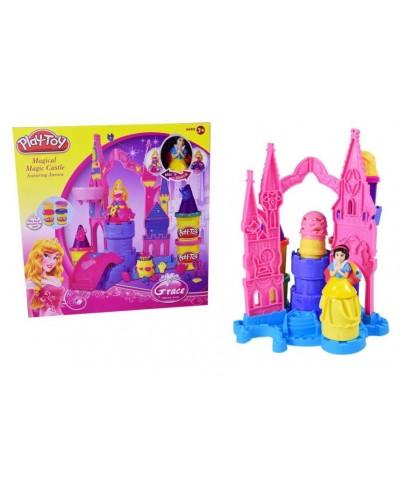 """Набор для творчества SM8021 """"Замок принцессы"""",пластилин, в коробке 31*28*6см"""