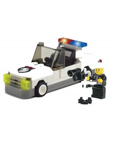 """Конструктор """"Brick"""" 125 Полиция""""74дет ,машина, человечек, от 6-ти лет, в кор. 14*10*5см"""