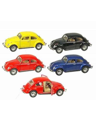 "Машина металл ""KINSMART"" KT5057W ""Volkswagen Classical Beetle 1967"", в коробке 16*8*7,5см"