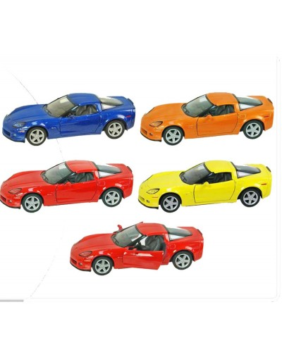 "Машина металл ""KINSMART"" KT5320W Chevrolet Corvette Z06  в кор.16*8,5*7,5cm"