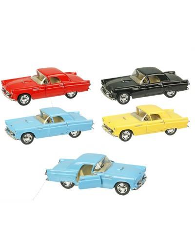 "Машина металл ""KINSMART"" KT5319W ""Ford Thunderbird 1955"", в коробке 16*8*7,5см"