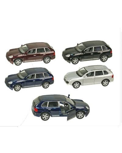 """Машина металл """"KINSMART"""" KT5075W """"Porsche Cayenne Turbo"""", в коробке 16*8*7,5см"""