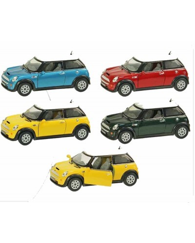 "Машина металл ""KINSMART"" KT5059W Mini Cooper S в коробке 16*8*7см"