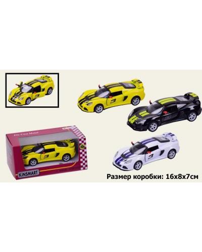 "Машина металл ""KINSMART"" KT5361WF ""Lotus Exige"", в коробке 16*8*7,5см"