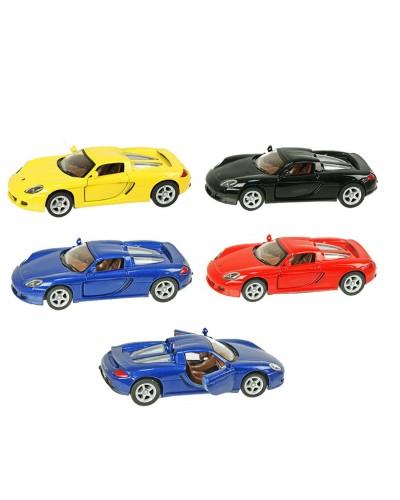 "Машина металл ""KINSMART"" KT5081W ""Porsche Carrera GT"" в кор. 16*8,5*7,5см"