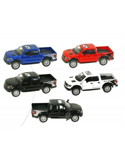 "Машина металл ""KINSMART"" KT5365WF Ford F-150 SVT Raptor Supercrew, в кор.16*8,5*7,5cm"