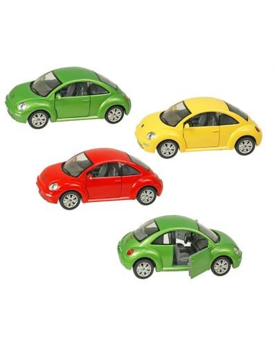 """Машина металл """"KINSMART"""" KT7003W """"Volkswagen New Beetle"""", в коробке 20*9*9,5см"""