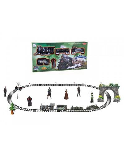 Железная дорога арт.138-9, батар. р/к, в коробке. (60*20 см)