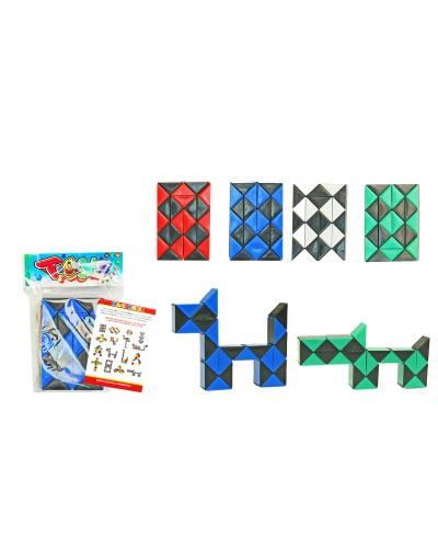 Логика-змейка 668, товар(32*2*1,5),  в пакете 12*8*1,5см