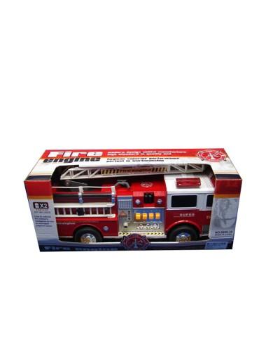 Пожарная машина батар. 6688-29 свет, звук, в коробке 35*15*13см