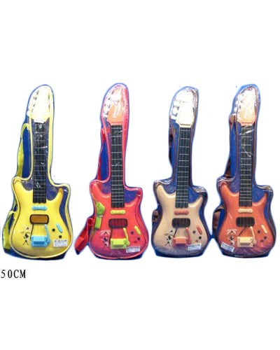 Гитара 280A-2/3/5, 4 вида, в пакете 50см