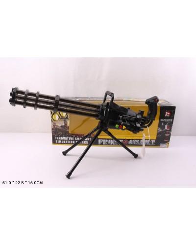 Пулемет Гатлинга, 236-12A, свет, звук, дым, в кор