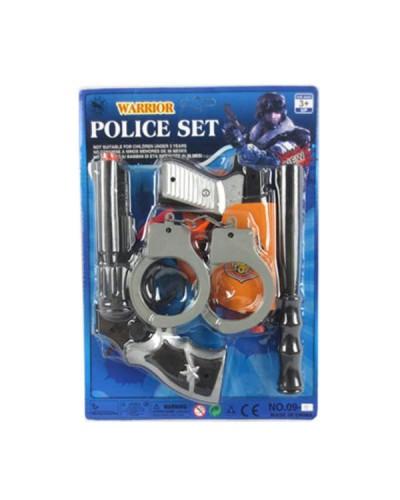 Полицейский набор 09-3 на планшетке 18*32 см