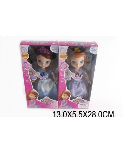 """Кукла """"S"""" 819 2 вида, муз,свет, в кор.13*6*28 см"""