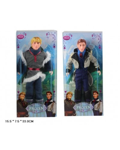 "Кукла ""F"" ZT8852A/B, 2 вида, мальчики, шарнир, в кор.16*8*33см"