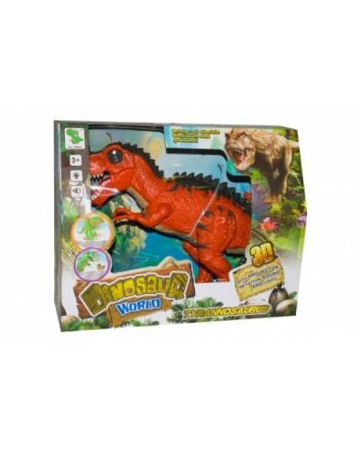 Животные 1010A/13A батар, динозавр, звук,свет, ходит, в коробке 36,5*13*29 см