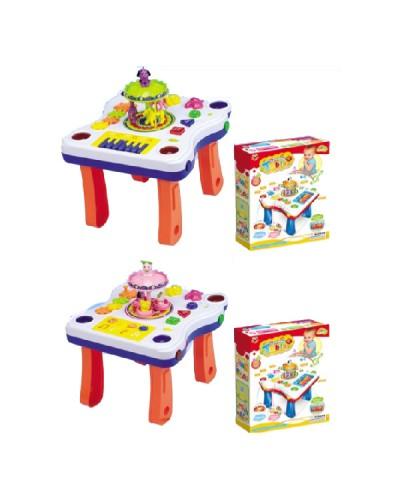 Игровой центр 668-63/668-64, Столик, многофункционал, 2 вида, в коробке