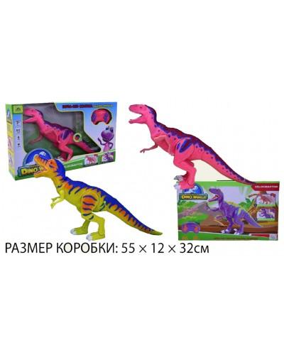 """Животные """"Планета Динозавров"""" RS6133B/4A 2 вида, звук,  в короб. 55*12*32см"""