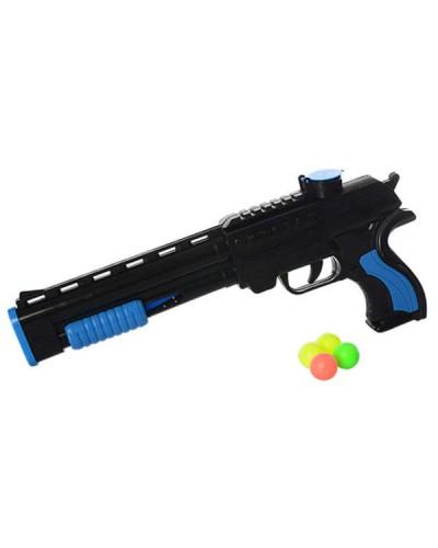 Пистолет  137A-2, с шариками, 2 цвета, в пакете