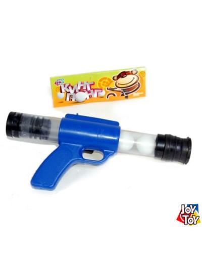 Пистолет 1055 стреляет шариками для пинпонга, в пакете 29см