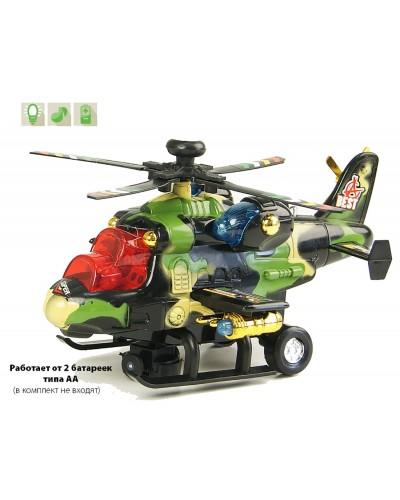 Вертолет 768 батар., свет., звук., в коробке 21*8*11см