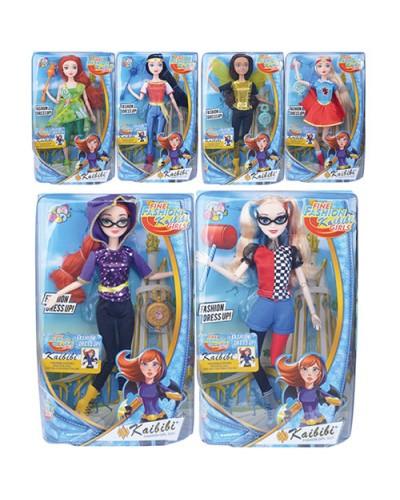 """Кукла """"SHG"""" BLD094/BLD094-1/2 6 видов, в кор.21*33*8см"""