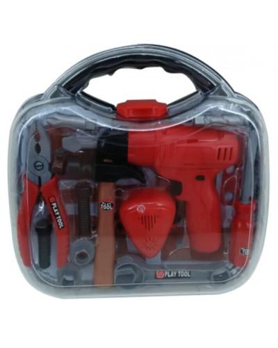 Набор инструментов TG206K в чемодане 30*27*8см