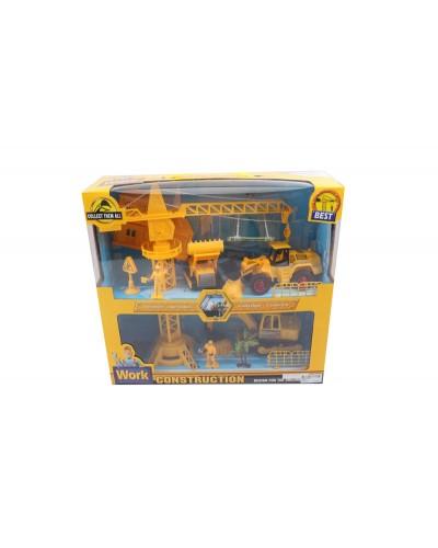 Набор строительной техники 3226C/D в коробке 40*37*13см