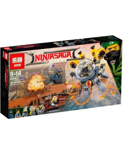 Конструктор  Lepin NINJA 06062 в коробке 42*26*6см