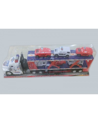 Трейлер инерц 919-79 с 6-ю машинками, под слюдой